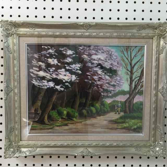 上総国分寺境内の桜